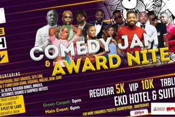NAIJA F.M COMEDY JAM AND AWARD …