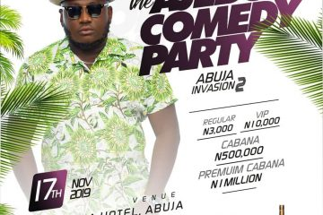 THE AJEBO COMEDY PARTY