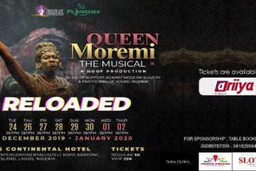 QUEEN MOREMI THE MUSICAL