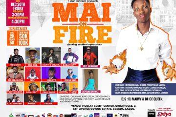 MAI ON FIRE