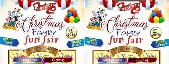 CHRISTMAS FAMILY FUNFAIR