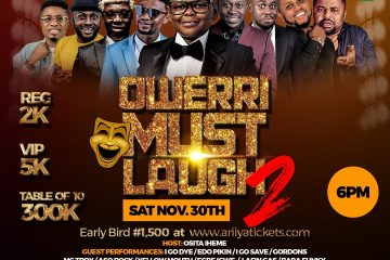 OWERRI MUST LAUGH 2