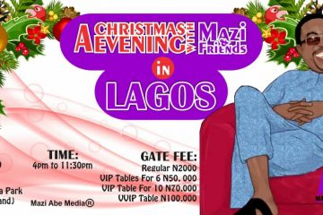 A Christmas Evening With Mazi  …