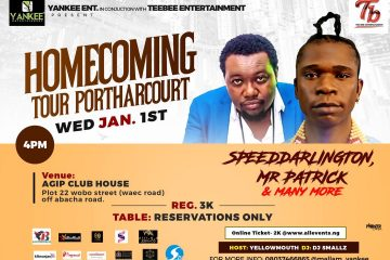 HOME COMING TOUR PORTHARCOURT