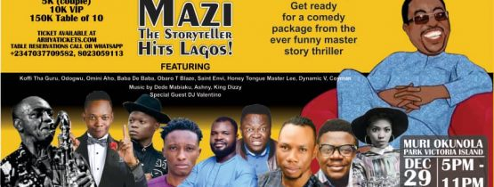 A Christmas Evening With Mazi and Friends in Lagos