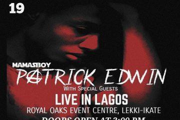 Patrick Edwin: Live In Lagos