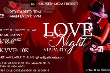 LOVE NIGHT VIP PARTY