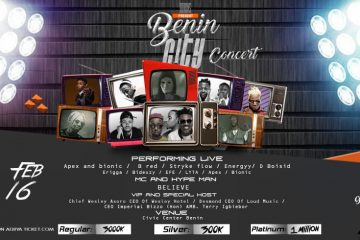 BENIN LIVE IN CONCERT