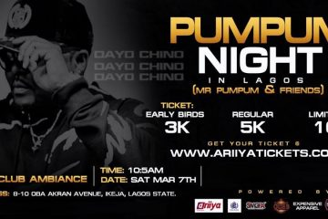 PUMPUM NIGHT IN LAGOS
