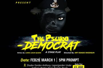 The Pseudo Democrat (a Stage P …