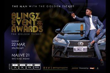 Blingz Event Awards