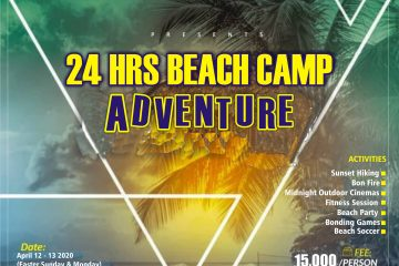24HRS BEACH CAMP ADVENTURE