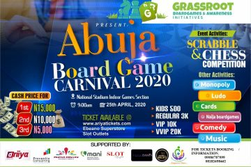 ABUJA BOARD GAME