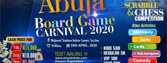 ABUJA BOARD GAME