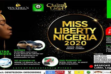 MISS LIBERTY NIGERIA 2020