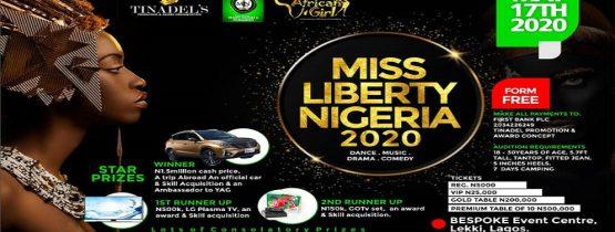MISS LIBERTY NIGERIA 2020