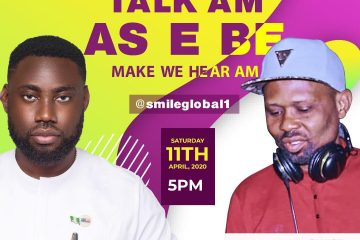 TALK AM AS E BE MAKE WE HER