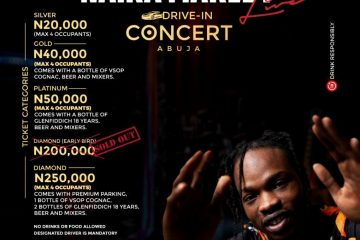NAIRA MARLEY DRIVE-IN CONCERT  …