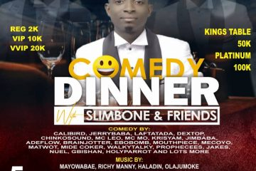 COMEDY DINNER with SLIMBONE &# …