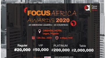 FOCUS AFRICA AWARD 2020