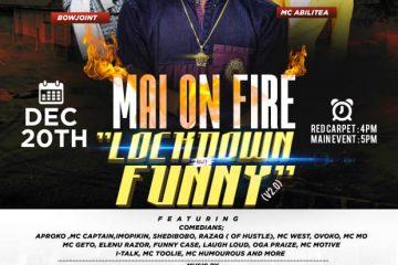 """MAI ON FIRE """"LOCKDOWN BU …"""