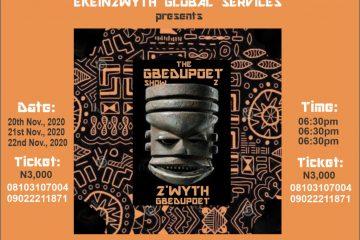 THE GBEDUPOET SHOW 2