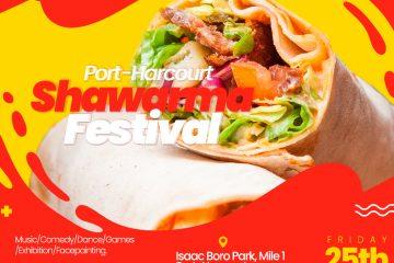 Port Harcourt Shawarma Festiva …
