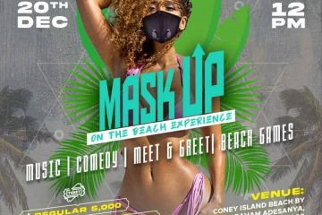 MASK UP ON THE BEACH EXPERIENC …