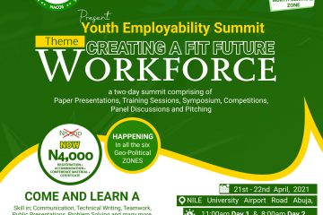 """Youth Employability Summit (YES 2021) Theme – """"Creating a Fit Future Workforce"""","""