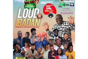 LOUD IN IBADAN (LAFFMATTAZZ TH …