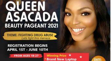 QUEEN ASACADA BEAUTY PAGEANT 2021