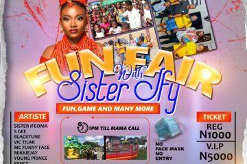 FUN FAIR WITH SISTER IFY
