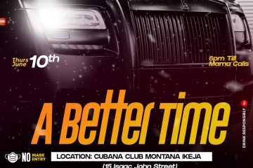 A BETTER TIME (club party)