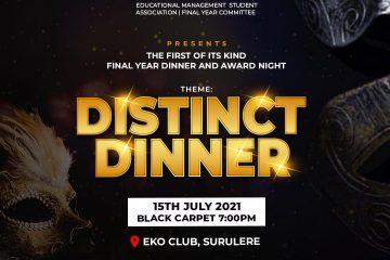 DISTINCT DINNER