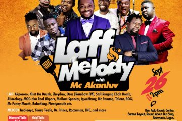 LAUGH AND MELODY WITH MC AKANL …