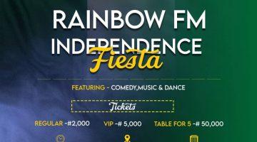 RAINBOW FM INDEPENDENCE FIESTA